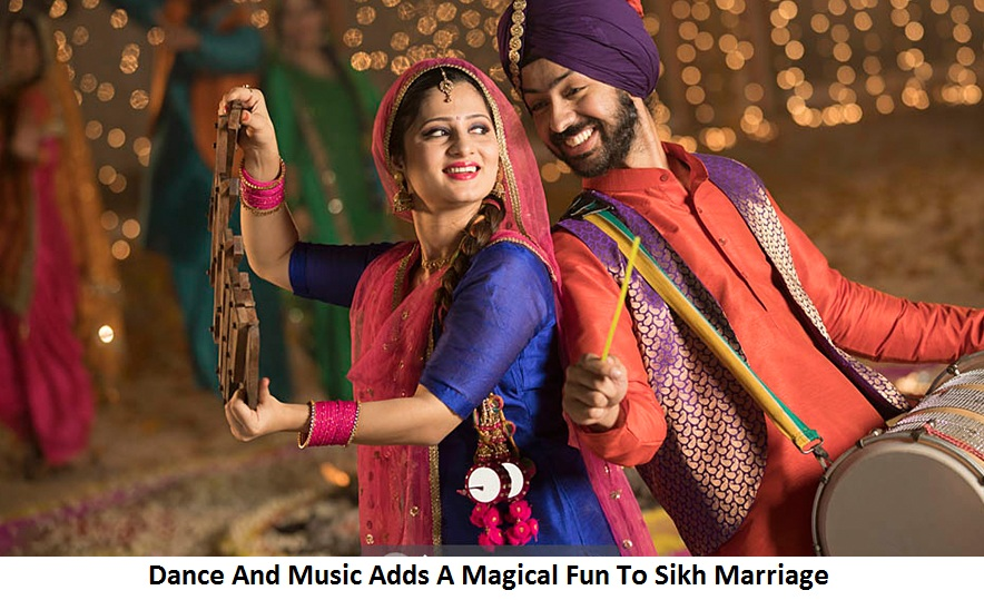 Dance And Music Adds A Magical Fun To Sikh Marriage