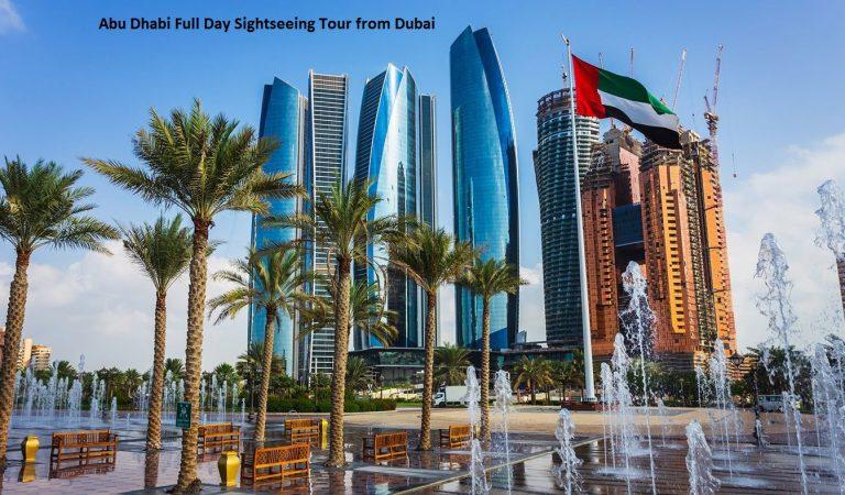 Abu Dhabi Full Day Sightseeing Tour from Dubai
