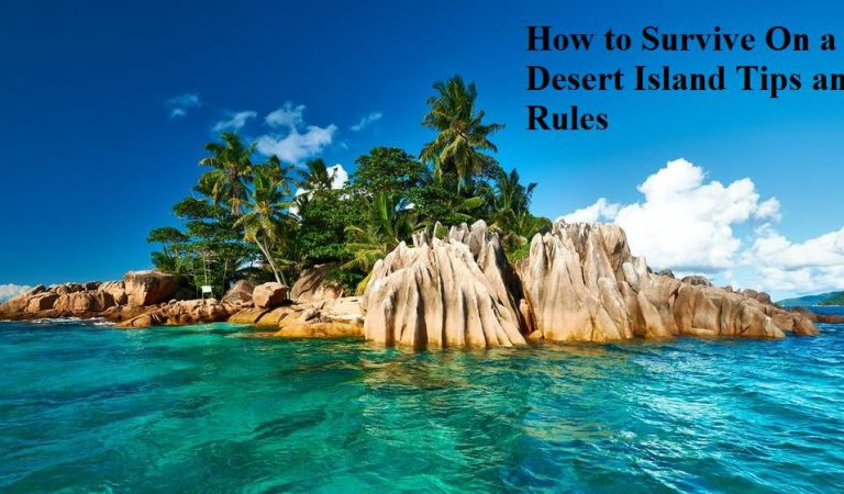 How to Survive On a Desert Island Tips and Rules
