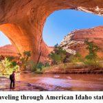 Traveling through American Idaho state