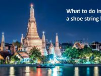 What to do in Bangkok on a shoe string budget