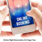 Online Flight Reservation On Finger Tips