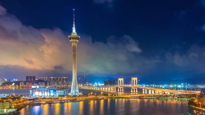 The Star of Macau Skyline
