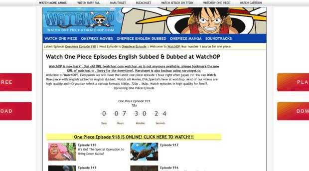 Watchop.io Site