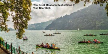 Ten Great Monsoon Destinations to Visit Near Delhi