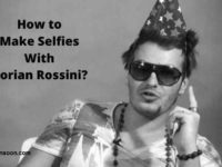 Make Selfie with Dorian Rossini