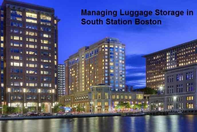 Managing Luggage Storage in South Station Boston