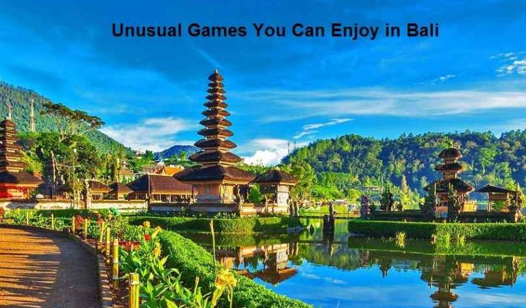 Unusual Games You Can Enjoy in Bali