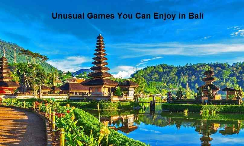 Games You Can Enjoy in Bali