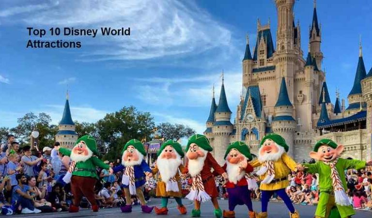 Top 10 Disney World Attractions