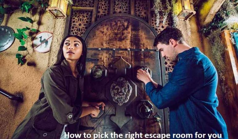 How to pick the right escape room for you